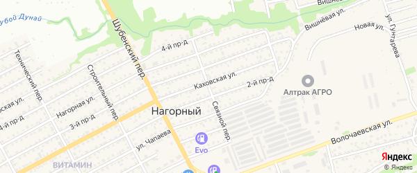 Связной переулок на карте Бийска с номерами домов