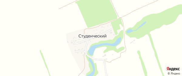 Фермерская улица на карте Студенческого поселка с номерами домов