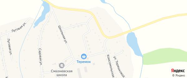 Молодежная улица на карте станции Смазнево с номерами домов