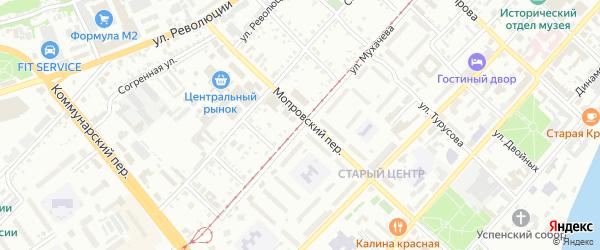 Улица Ильи Мухачева на карте Бийска с номерами домов