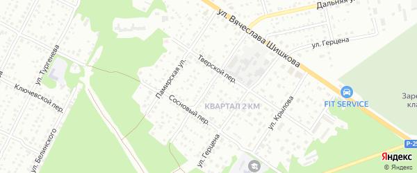 Крестьянская улица на карте Бийска с номерами домов