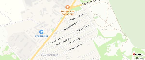Трубный переулок на карте Бийска с номерами домов