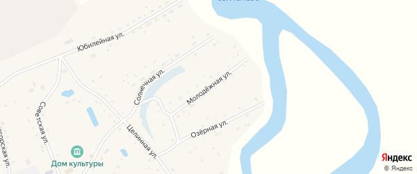 Молодежная улица на карте села Дмитро-Титово с номерами домов