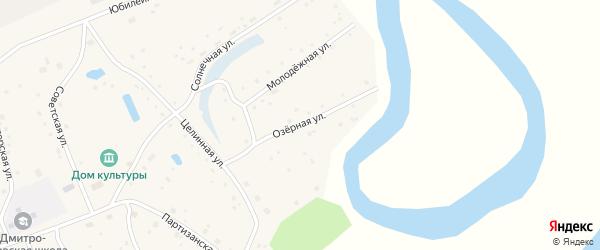Озерная улица на карте села Дмитро-Титово с номерами домов