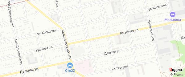 Крайняя улица на карте Бийска с номерами домов