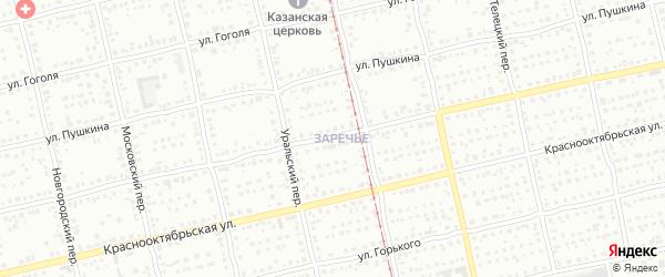 Садовая улица на карте садового некоммерческого товарищества им Мичурина с номерами домов