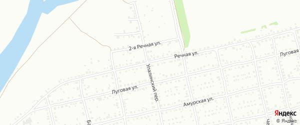 Речная улица на карте Бийска с номерами домов