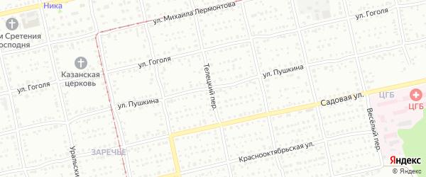 Улица Александра Пушкина на карте Бийска с номерами домов
