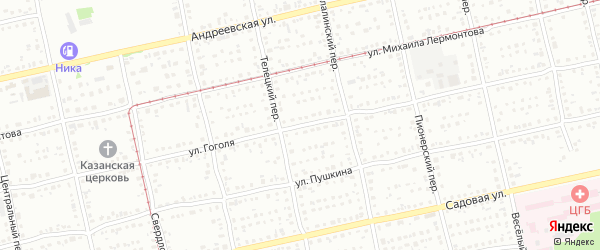 Улица Николая Ассанова на карте Бийска с номерами домов