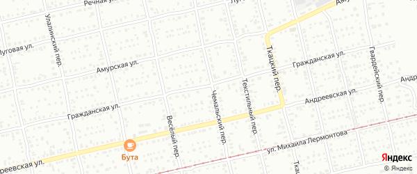 Гражданская улица на карте Бийска с номерами домов