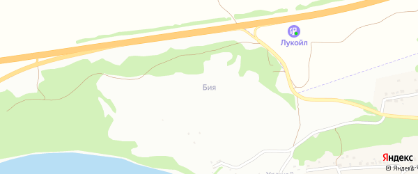 5-й квартал на карте садового некоммерческого товарищества Бии с номерами домов