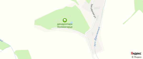 Заозерная улица на карте Алтайского села с номерами домов