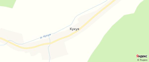 Центральная улица на карте села Кукуя с номерами домов