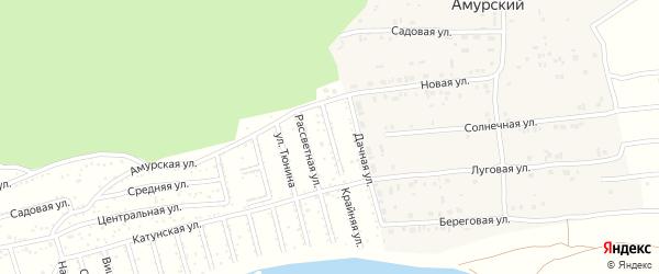 Крайняя улица на карте садового некоммерческого товарищества Теплоэнергетика с номерами домов