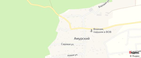 Катунская улица на карте Амурского поселка с номерами домов
