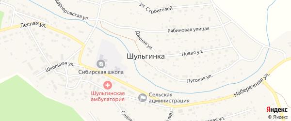 5-я Карьеровская улица на карте села Шульгинки с номерами домов