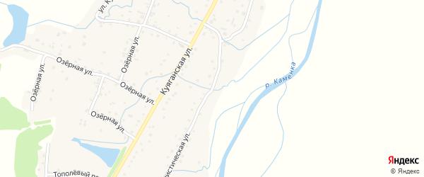 Социалистическая улица на карте Алтайского села с номерами домов