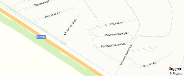 Светлоозерская улица на карте Бийска с номерами домов