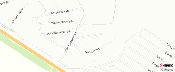 Красногорская улица на карте Бийска с номерами домов