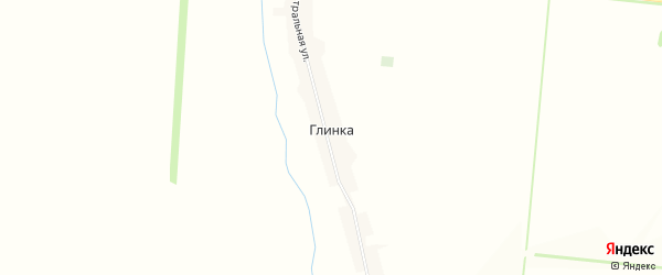 Карта поселка Глинки в Алтайском крае с улицами и номерами домов