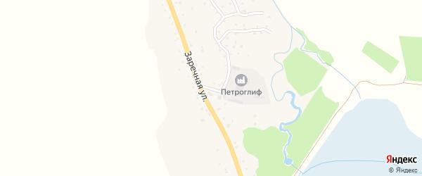 Лесозаводской переулок на карте Алтайского села с номерами домов