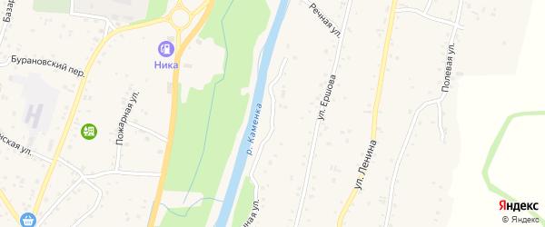 Речная улица на карте Алтайского села с номерами домов