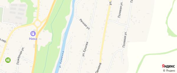 Улица В.С.Ершова на карте Алтайского села с номерами домов
