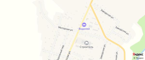 Моторная улица на карте Алтайского села с номерами домов