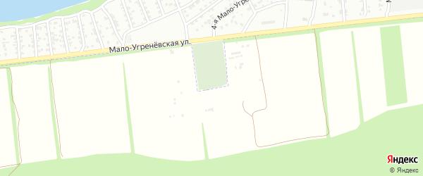 Лесная улица на карте садового некоммерческого товарищества Дубки с номерами домов