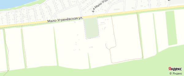 Ягодная улица на карте садового некоммерческого товарищества Дубки с номерами домов