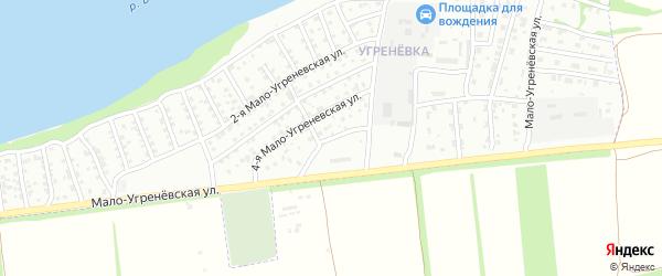 5-я Мало-Угренёвская улица на карте Бийска с номерами домов