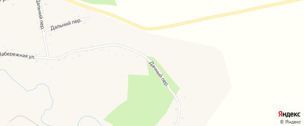 Дачный переулок на карте села Красного Яра с номерами домов