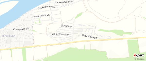 Карта садового некоммерческого товарищества Мичуринца в Алтайском крае с улицами и номерами домов