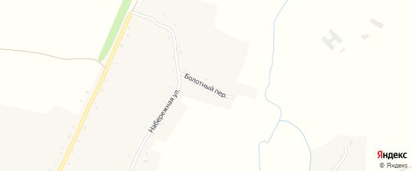 Болотный переулок на карте села Нижнекаменки с номерами домов