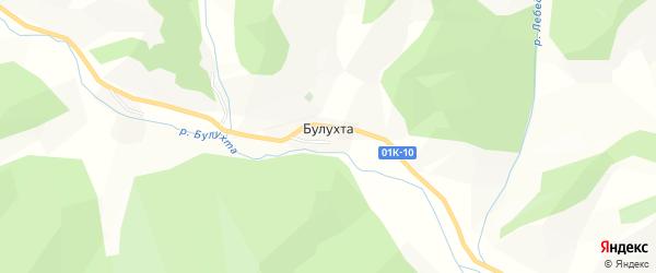 Карта поселка Булухты в Алтайском крае с улицами и номерами домов