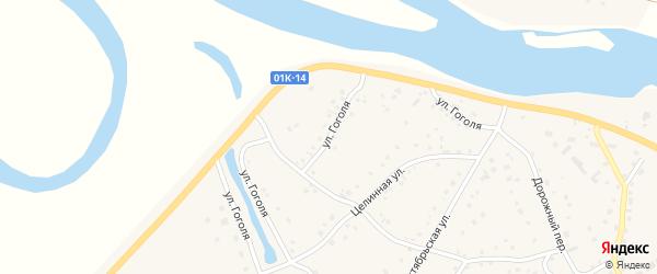 Улица Гоголя на карте села Кытманово с номерами домов