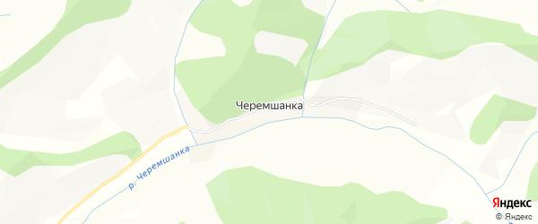 Карта поселка Черемшанки в Алтайском крае с улицами и номерами домов
