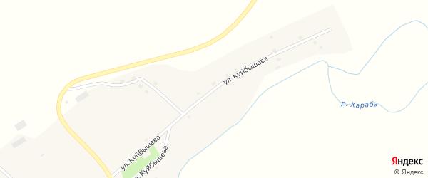 Улица Куйбышева на карте села Соснового Лога с номерами домов