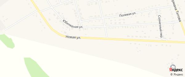 Новая улица на карте села Кытманово с номерами домов