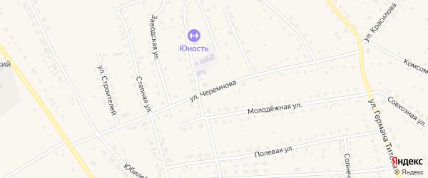 Улица Черемнова на карте села Кытманово с номерами домов