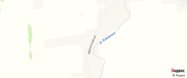 Иркутская улица на карте села Сетовки с номерами домов