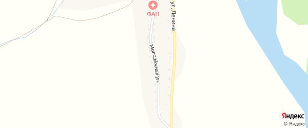 Молодежная улица на карте села Кайтанака с номерами домов