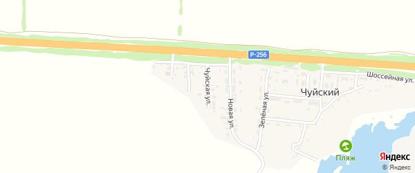 Чуйская улица на карте Чуйского поселка с номерами домов