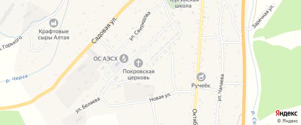 Новая улица на карте села Дъектийка с номерами домов
