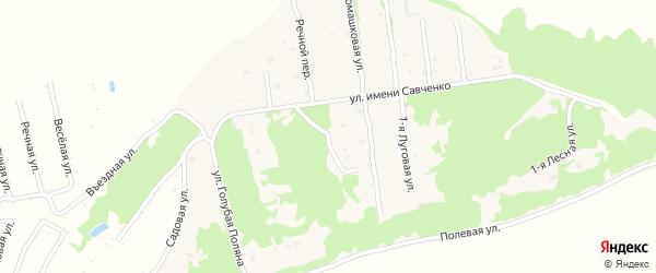 Парковая улица на карте села Ключи с номерами домов