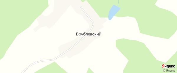 Лесная улица на карте Врублевского поселка с номерами домов