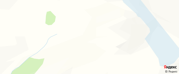 Карта поселка Маральника-2 в Алтае с улицами и номерами домов