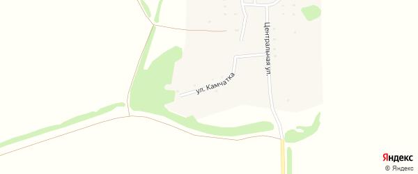 Улица Камчатка на карте Предгорного поселка с номерами домов