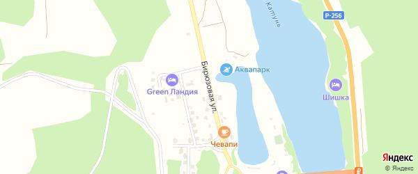 Бирюзовая улица на карте Рубцовска с номерами домов