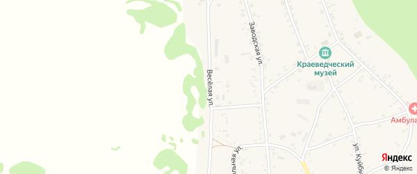 Веселая улица на карте села Аи с номерами домов